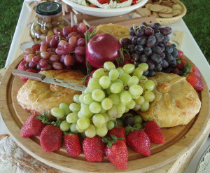 Baked Brie Cheese- Catering in Richmond, VA