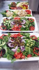 Italian Salad Hummus Richmond, VA Catering