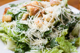Classic Caesar Salad Boxed Lunch in Richmond, Virginia.