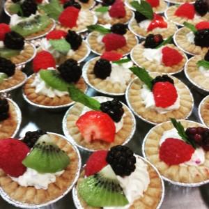 Mini Berry Tarts - Dessert Catering Example